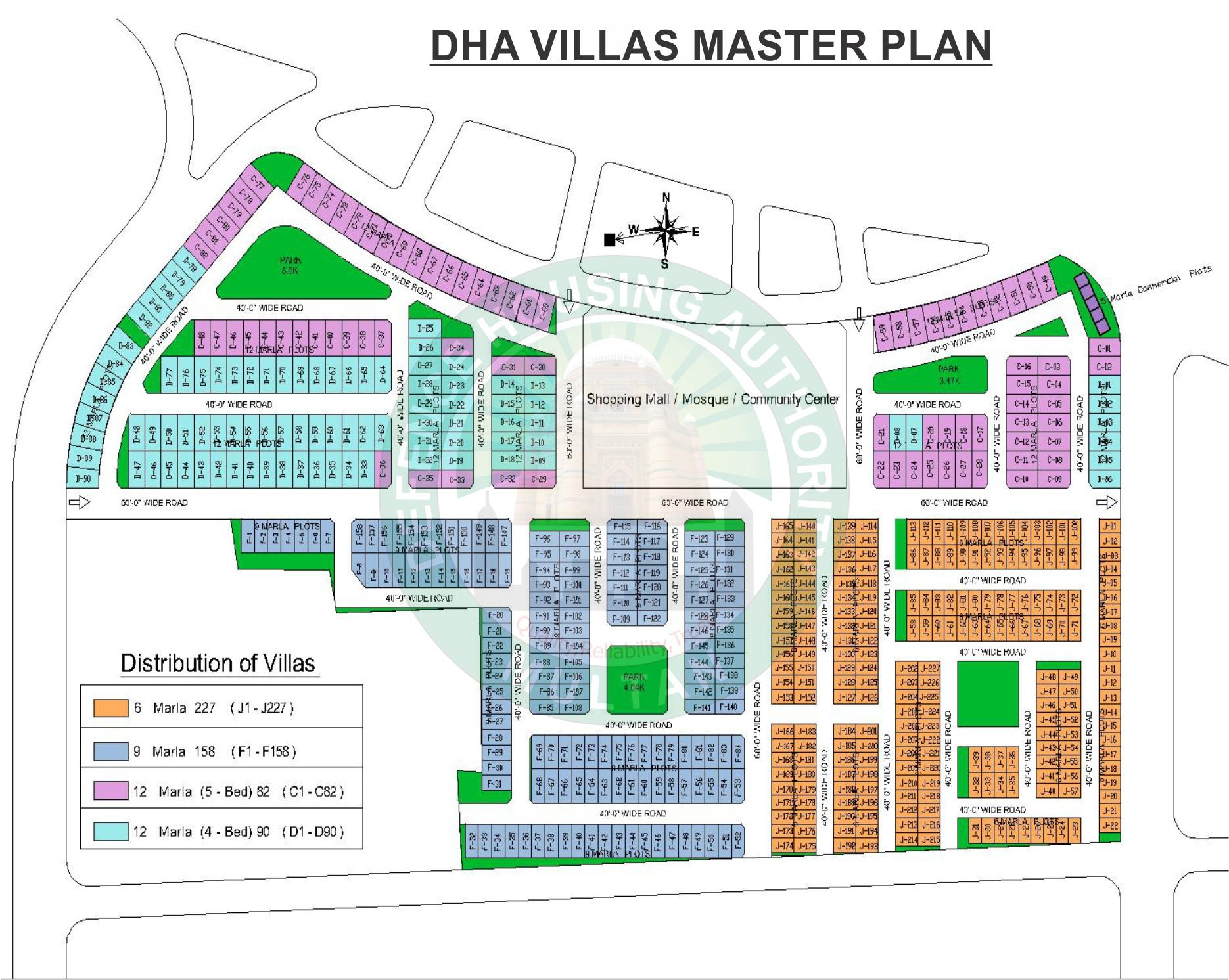 villa electrical plan